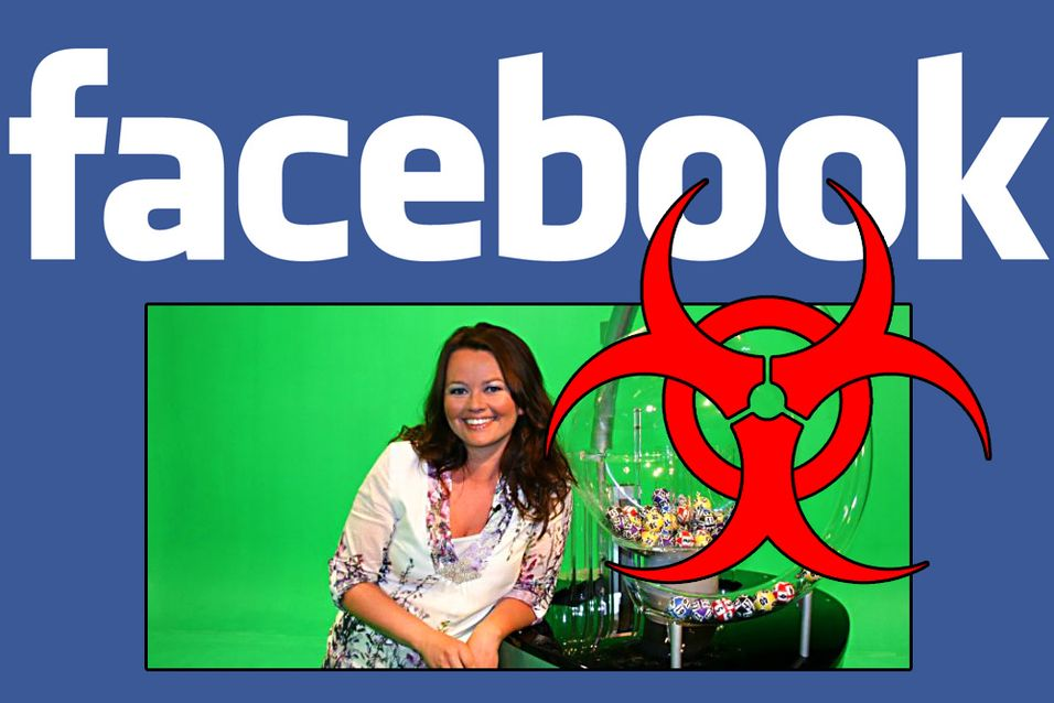 Falsk Lotto-Hilde sprer mulig virus på Facebook