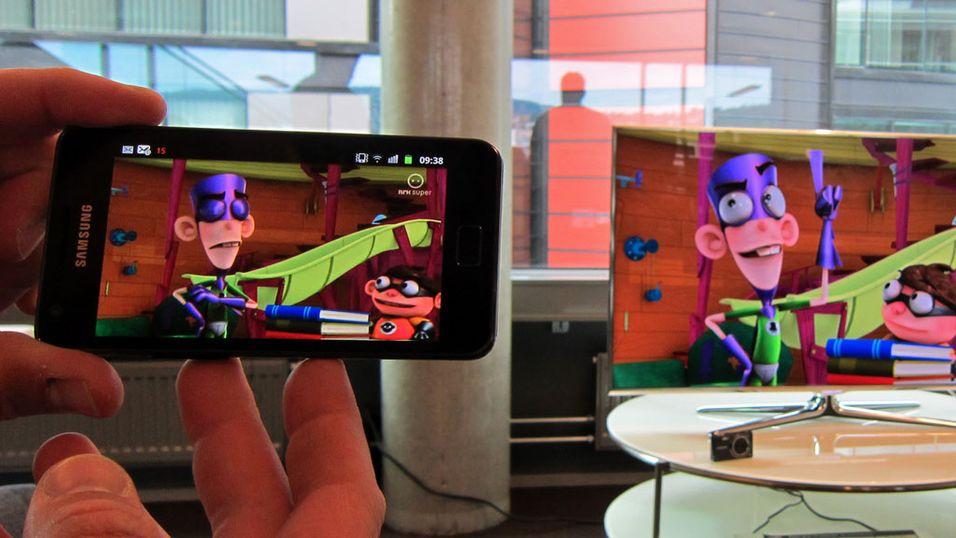Samsung Galaxy S II blir ekstra-TV
