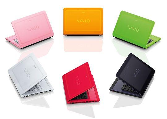 Fargerikt: Sony Vaio C.