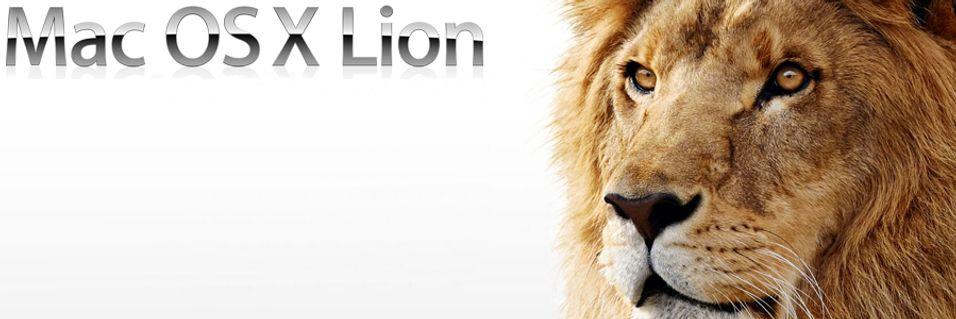 Mac OS X Lion er produksjonsklar