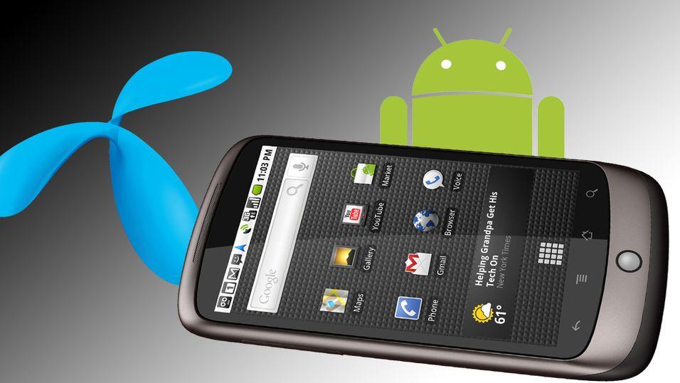 Android-mobiler sprenger mobilnettet