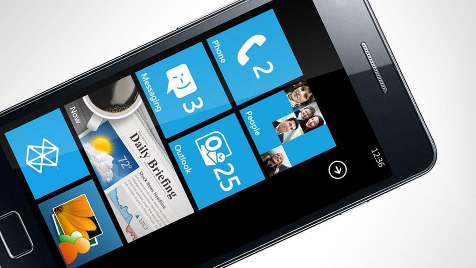 Galaxy S II med Windows Phone 7?