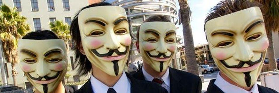 Razzia mot Anonymous