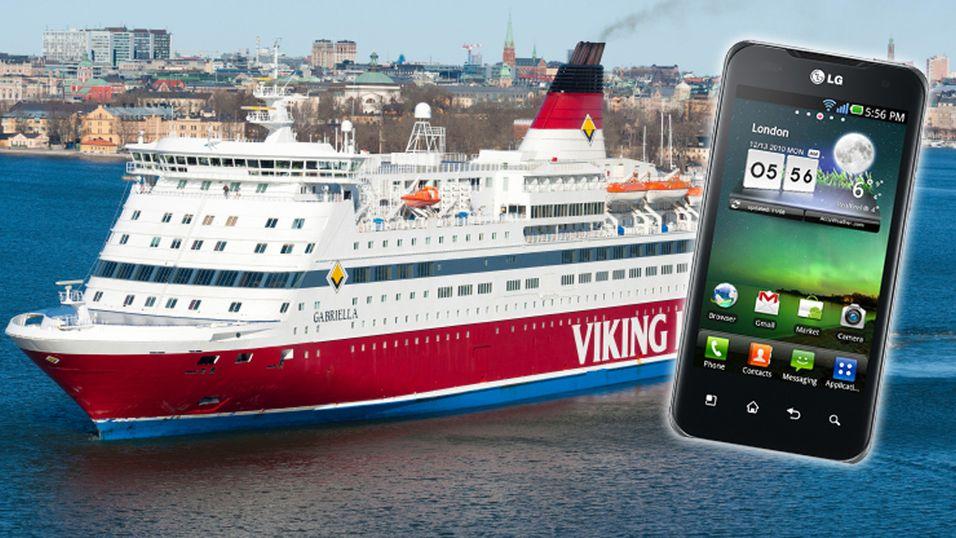 Skyhøye mobilpriser på sjøen