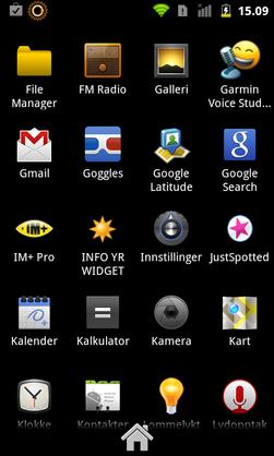 Når du skal sjekke hvilken versjon av Android telefonen din kjører, må du velge