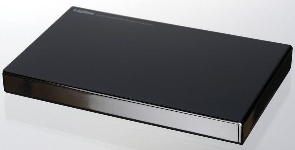 Slipper slanke eksterne harddisker