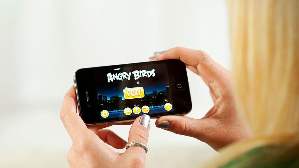 iPhone-brukere er de ivrigste spillerne
