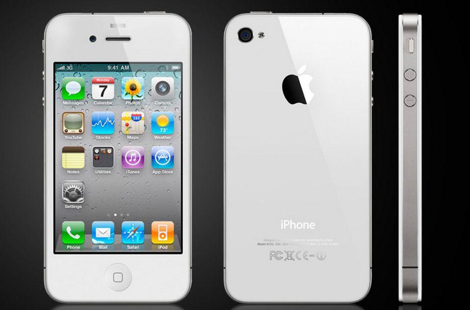iPhone oppdateres