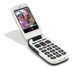 Doro PhoneEasy 615 er en klassisk pensjonist-kamskjelltelefon.