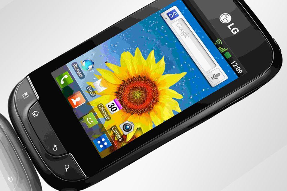 LG Optimus Net nærmer seg