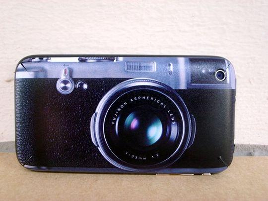 Fuji Finepix X100 - iPhone 3G