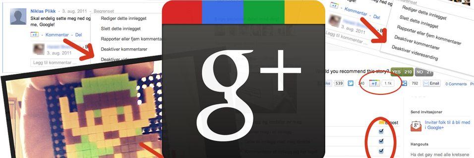 GUIDE: Ti tips til deg med Google+