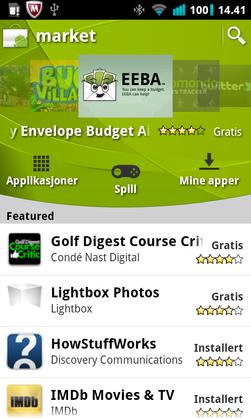 Du finner mye moro på Google Play.