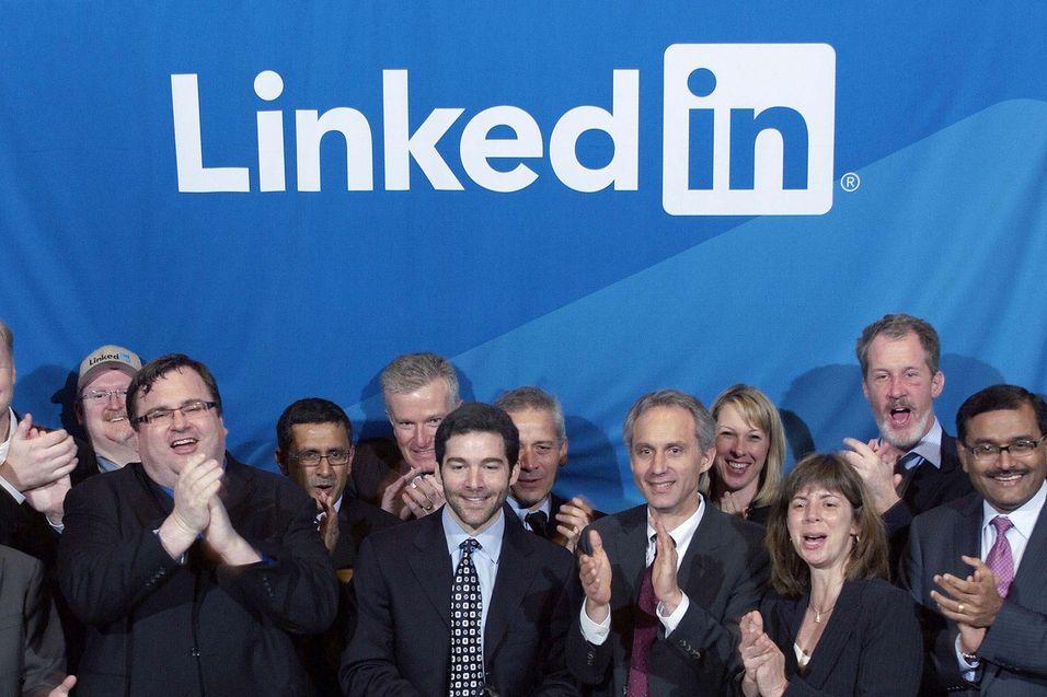 LinkedIn med sterk vekst