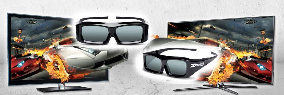 Panasonic, Samsung og Sony blir enige om 3D-standard