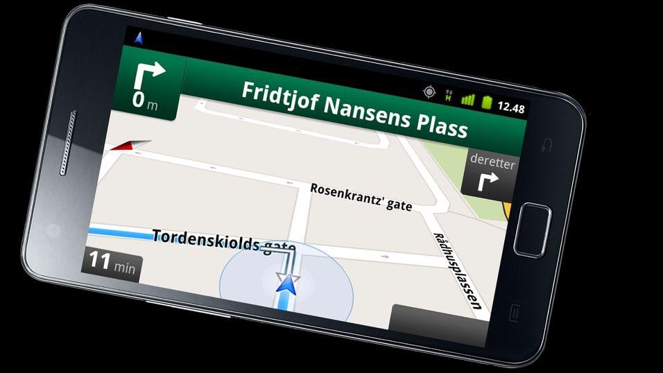 Endelig Google Maps-navigasjon i Norge