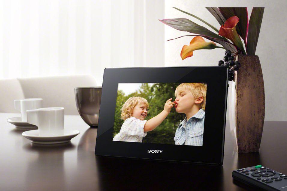 Nye fotorammer fra Sony