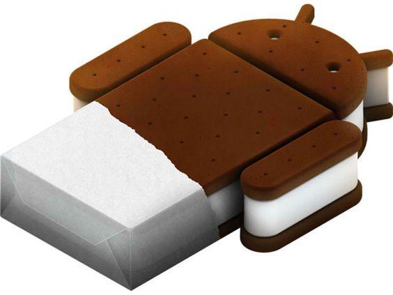 Neste versjon av Android heter Ice Cream Sandwich.