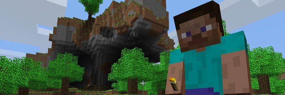 Minecraft lansert på mobil