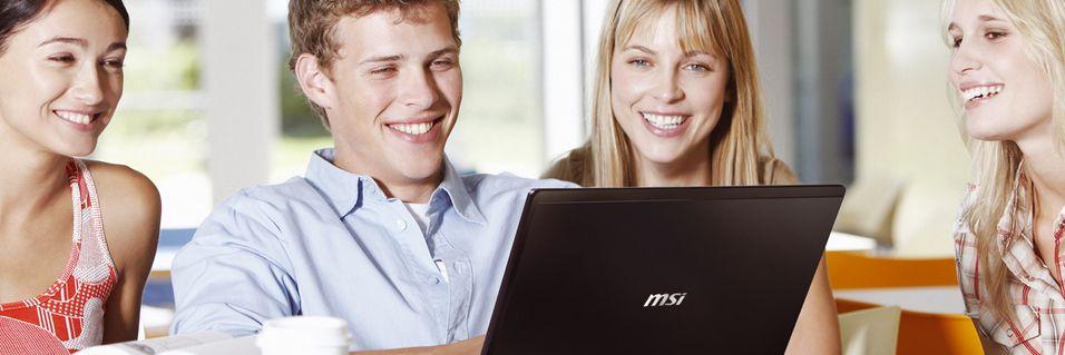 Billig multimediabærbar fra MSI