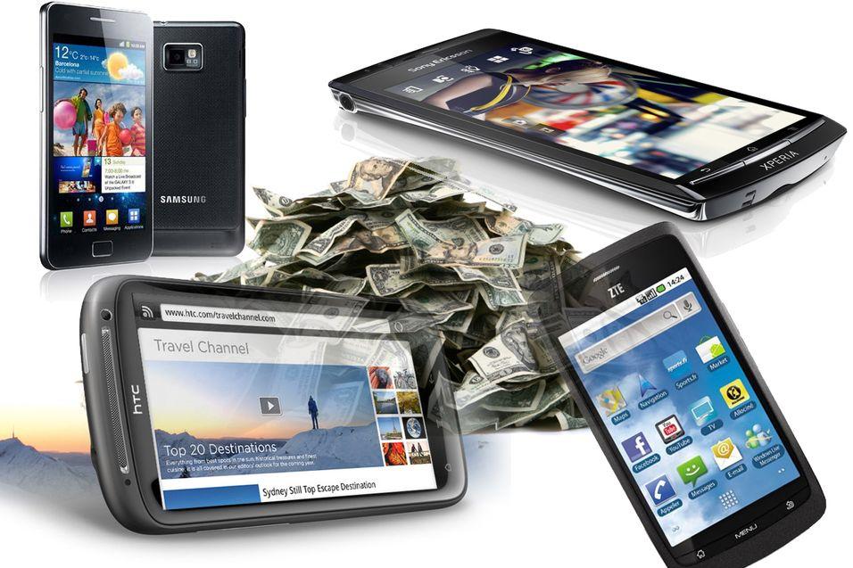 Spar tusenvis på de ti beste smarttelefonene