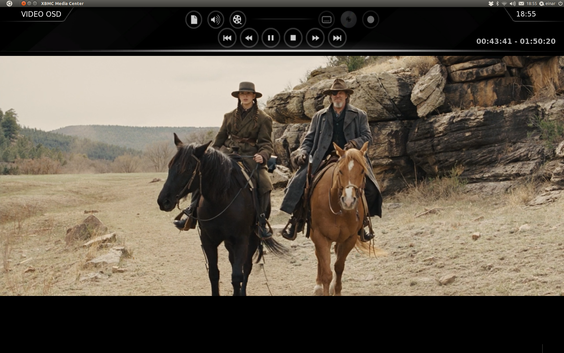 XBMC Remote kan fint erstatte alle andre fjernkontroller mens du ser film.