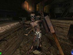 Skjermbilde fra Thief, som en av hjernene bak Dishonored har vært med å lage.
