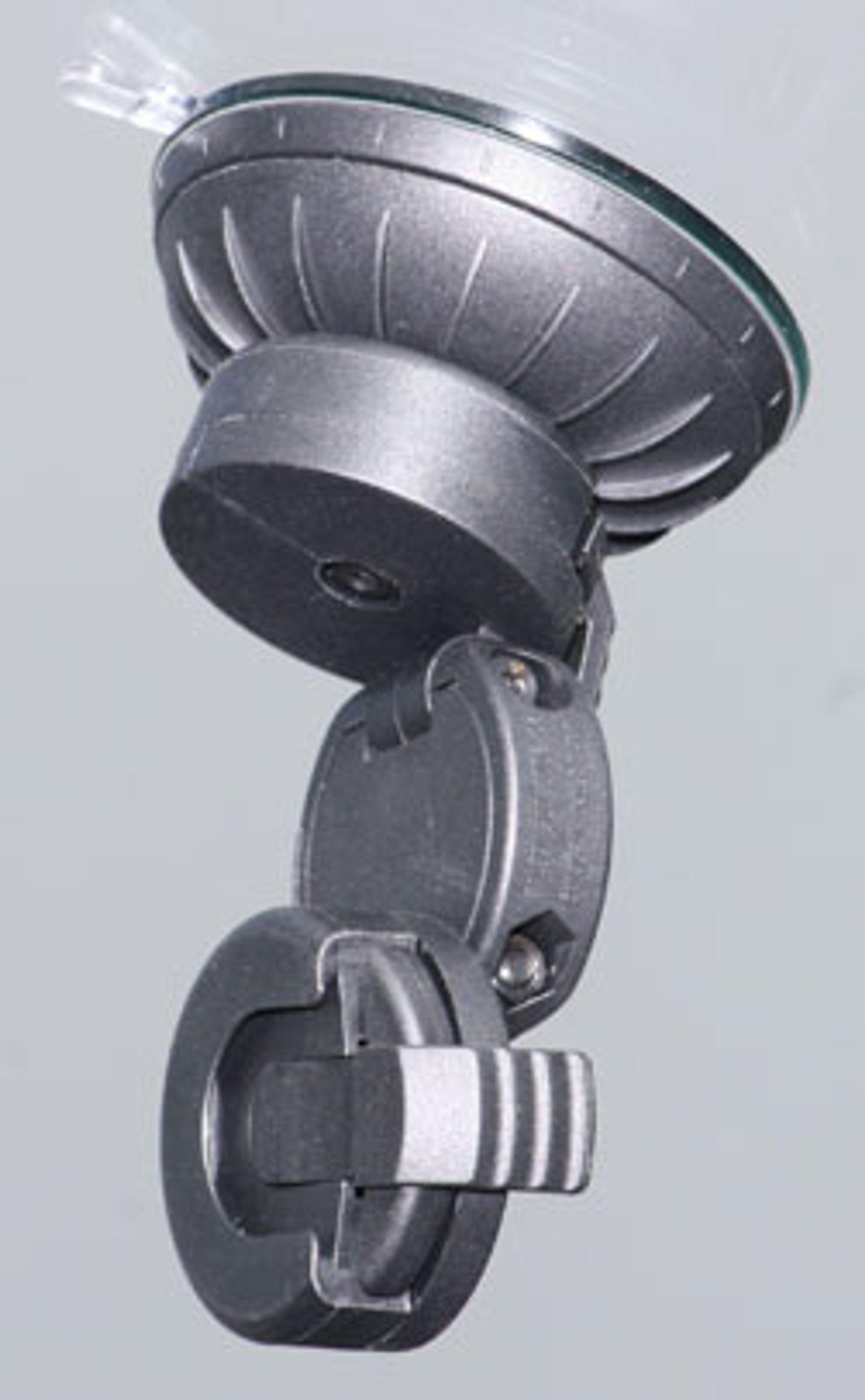 Selve holderen kan løsnes fra foten og brukes i en annen bil der du har brukt ekstrafoten med lim- eller skrueløsning.