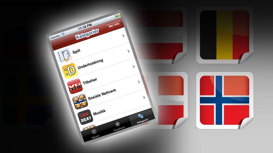 Samler Norske Apper for iPhone