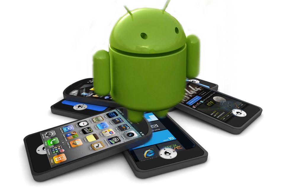Android dominerer markedet