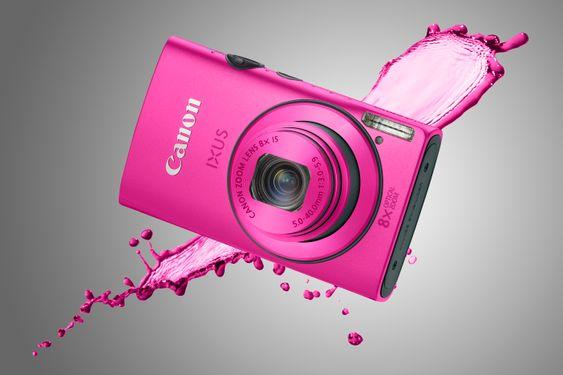 Canon Ixus 230 HS. Ikke det som tåler mest, men lekkert og mye for pengene.