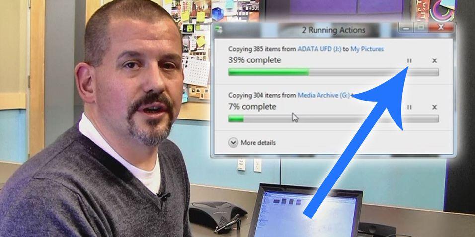 Microsoft forbedrer overføringsmulighetene