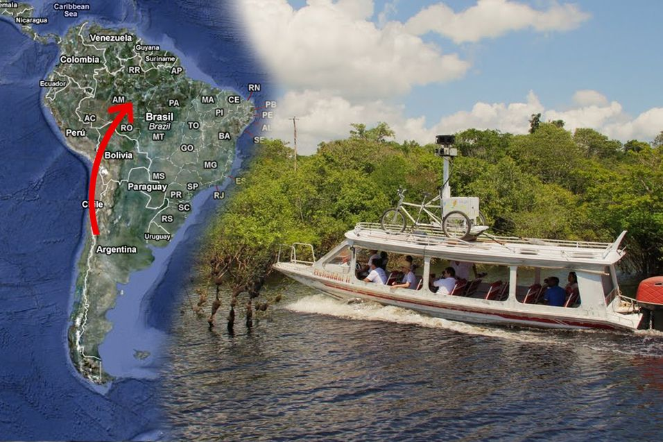 Google vil kartlegge Amazonas