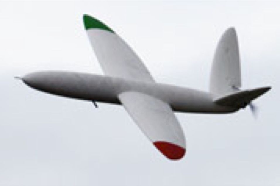 Verdens første 3D-printede fly