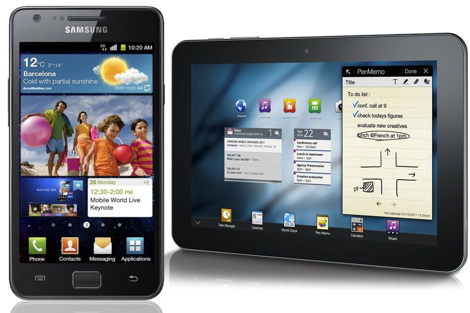 Samsung oppgraderer toppmodellene sine