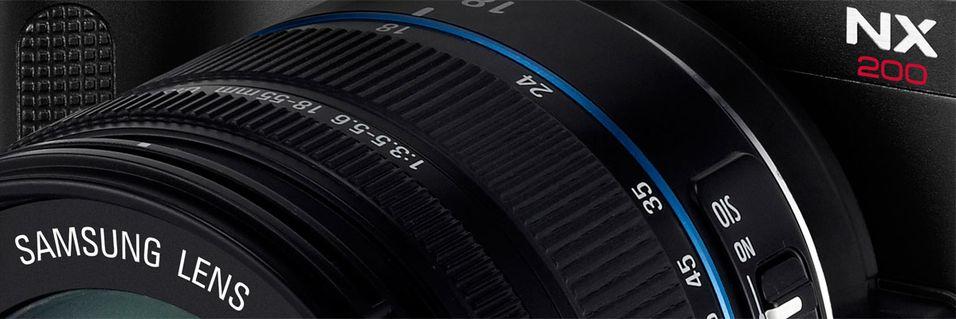 Samsung NX200 får 20 megapiksler