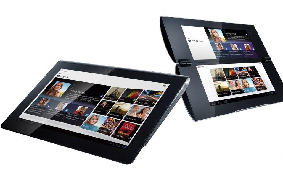 Både Tablet S og Tablet P fra Sony skiller seg ut fra nettbrettene vi ser på markedet i dag.