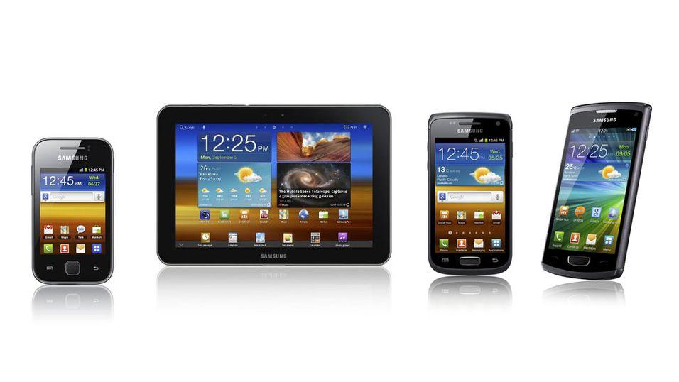 Her er nyhetene fra Samsung