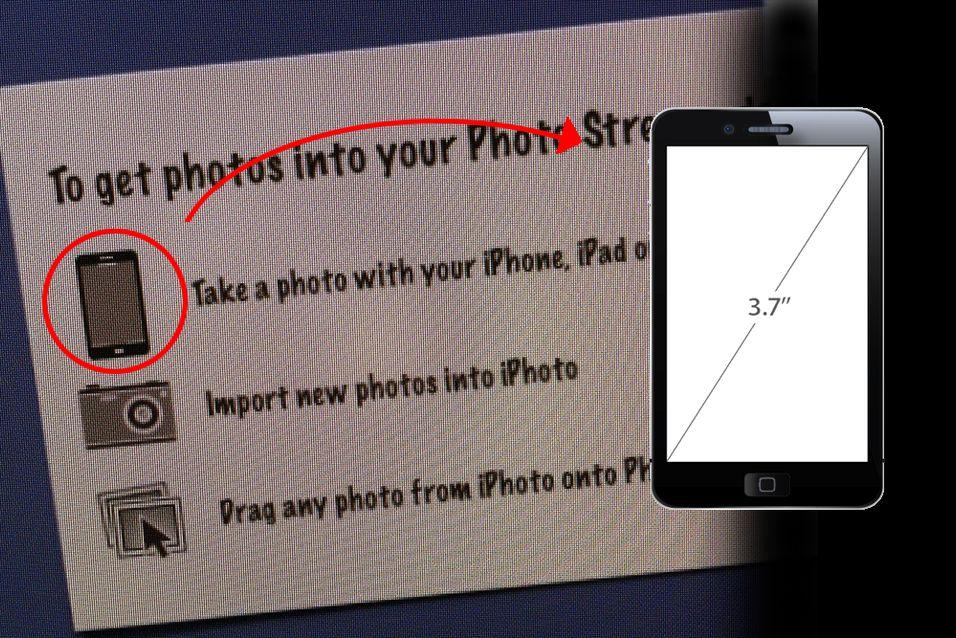 Har Apple avslørt iPhone 5-utseendet?