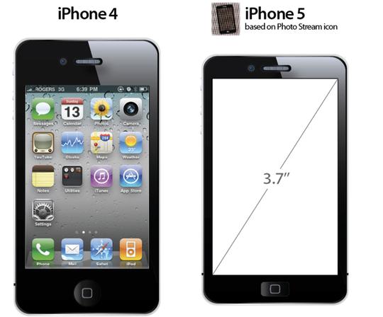 Ifølge bildene kan vi forvente litt større skjerm, og en langt tynnere ramme rundt, skriver 9to5mac.