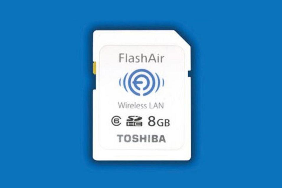 Verdens første trådløse toveis SD-kort