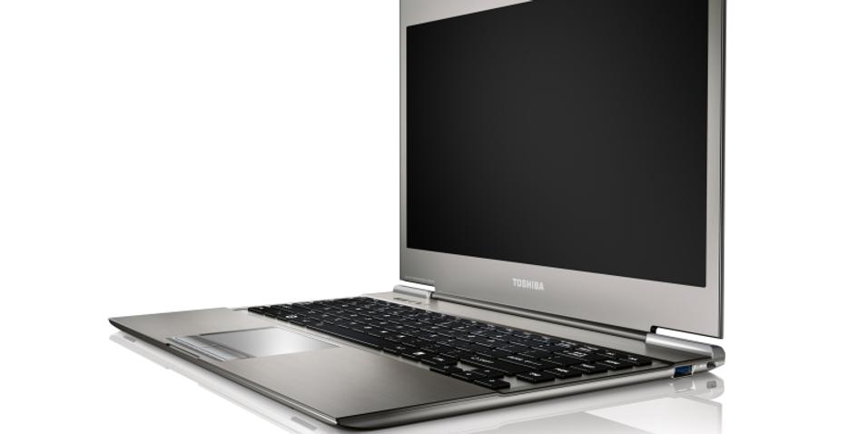 Toshibas tolkning av Intel Ultrabook, som AMD nå kanskje vil konkurrere mot.