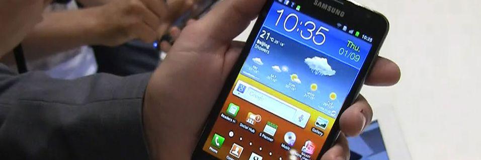 Snart kan Galaxy Note få en oppfølger