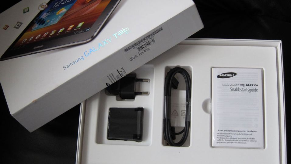 Vant du en Samsung Galaxy Tab 10.1?