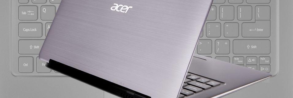 Acer er klare med sin Ultrabook
