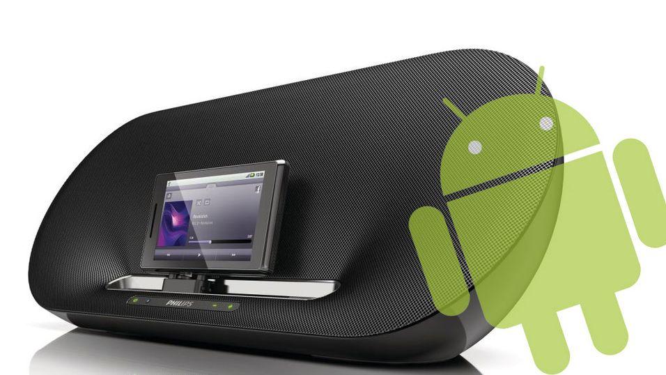 Philips skrur opp volumet for Android