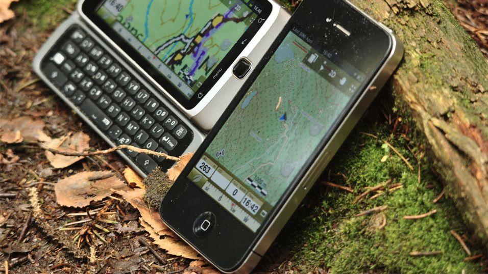 TEST: Apps for navigasjon i skog og mark