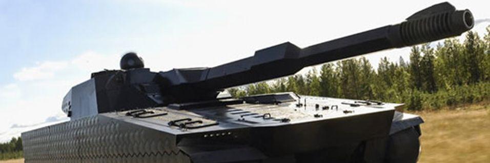 Nå blir stridsvogner usynlige
