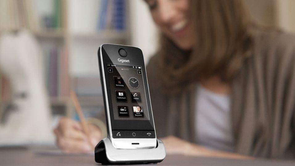 Gigaset lanserer touch for hjemmet