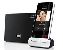 SL 910 er en lekker hjemmetelefon. Men så veldig smart er den ikke.
